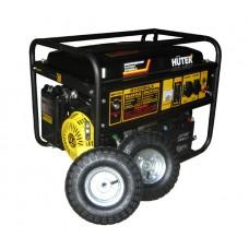 Электрогенератор DY6500LX с колёсами и аккумулятором