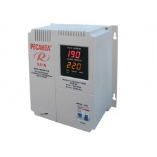 Однофазный цифровой стабилизатор Ресанта АСН-3000Н/1-Ц Lux