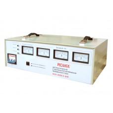 Трехфазный электромеханический стабилизатор Ресанта АСН-4500/3-ЭМ